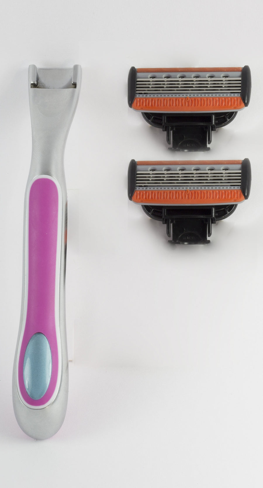 Women's Razor Heads and Handle