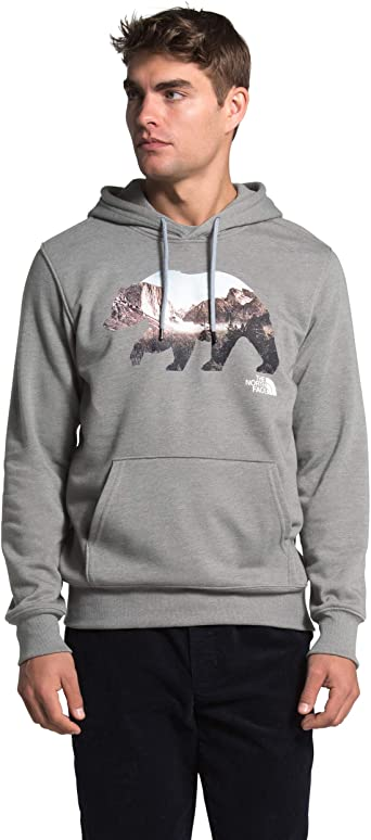 MEN'S BEARINDA PULLOVER HOODIE - GREY HEATHER