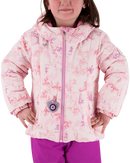 OBERMEYER IRIS TODDLER JACKET - PINK PALS