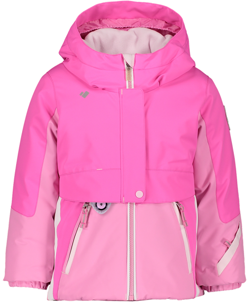 OBERMEYER STORMY TODDLER JACKET - PINK PWR