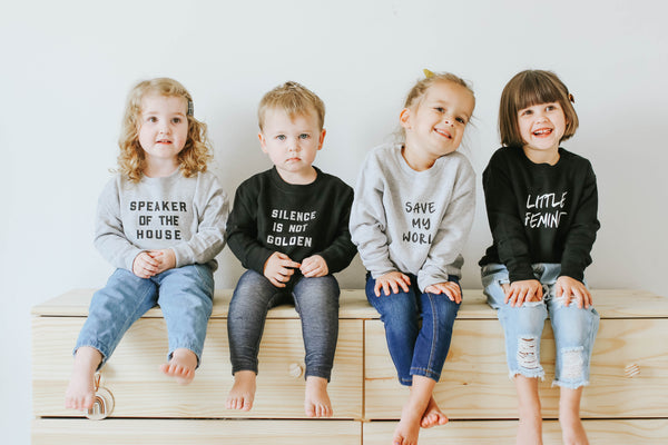 Love Bubby save my world earth day kids children clothing