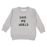 Love Bubby Save My World Earth Day Kids Baby Children Clothes