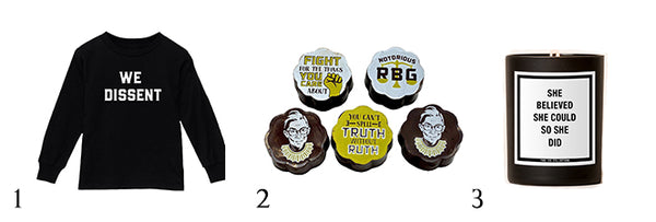 Love Bubby Gift Guide activist kids chocolate RBG