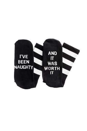 I've Been Naughty Socks