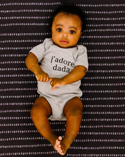 Apparel & Accessories > Clothing > Baby & Toddler Clothing > Baby One Pieces - J'adore Dada Bodysuit