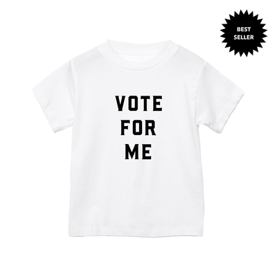 Apparel & Accessories > Clothing > Baby & Toddler Clothing > Baby & Toddler Tops - Vote For Me