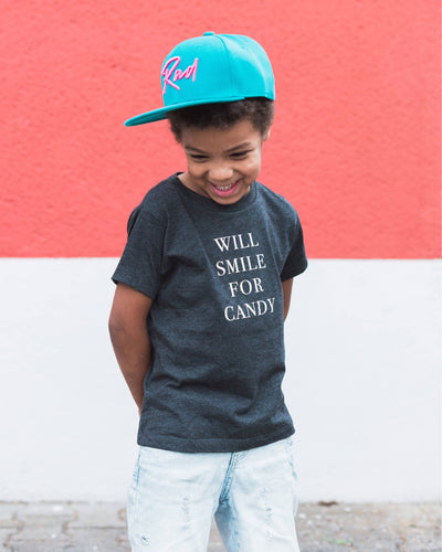 Apparel & Accessories > Clothing > Baby & Toddler Clothing > Baby & Toddler Tops - Will Smile For Candy