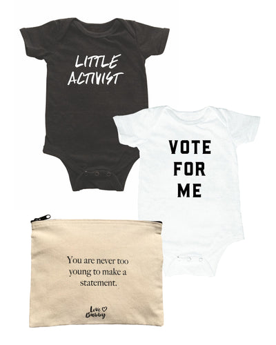 Gift Set: Vote For Me/Little Activist