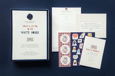 Mr Boddington's Studio: Write To The White House Kit
