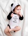 No Sleep 'Til Milk Bodysuit