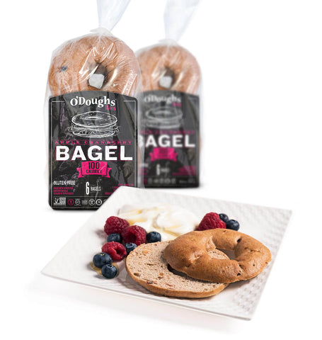 Apple Cranberry Bagel