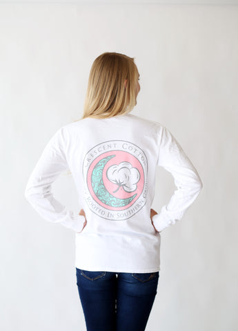 Preppy Logo Long Sleeve