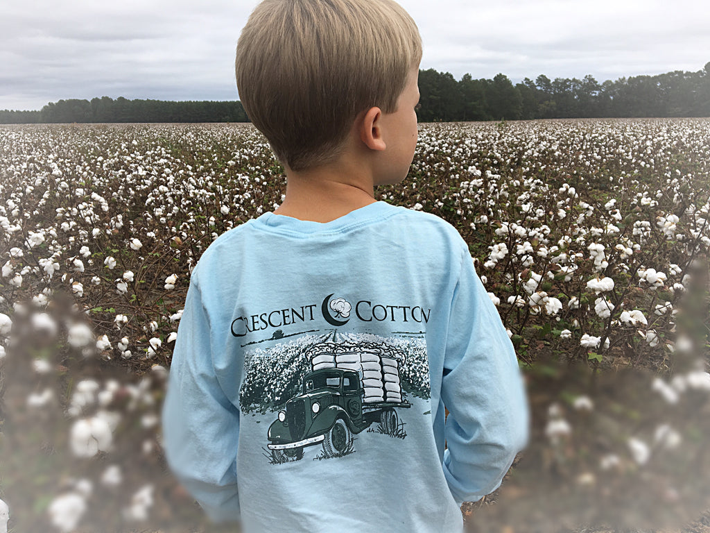 Cotton Truck YOUTH Long Sleeve
