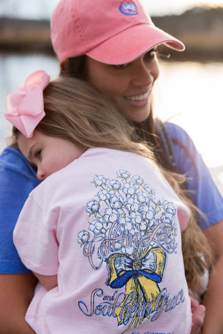 Cotton, Lace, & Southern Grace YOUTH TEE