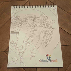 20 Page Custom Coloring Book