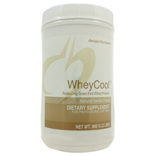 Whey Cool Natural Vanilla - 2 lbs - Grass-fed Protein Powder