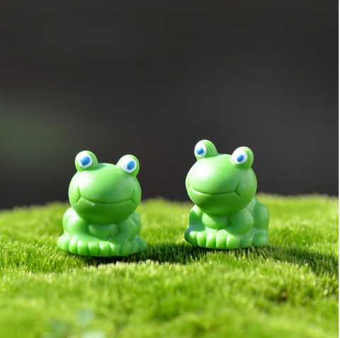 Decoration Miniature Cute Frog