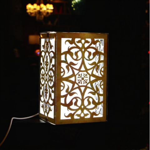 USB LED Night Light Table Lamp