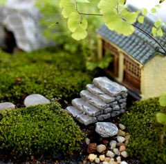 Miniature Resin Bridge Garden Stair