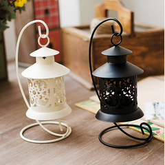 Iron Moroccan Style  Candle Holder