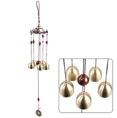 Copper Windchimes 5 Bells