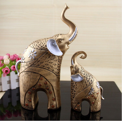 Elephant Statue Ornaments Home Decor