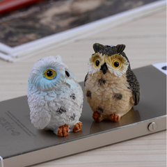 Animal Resin Owls Miniatures