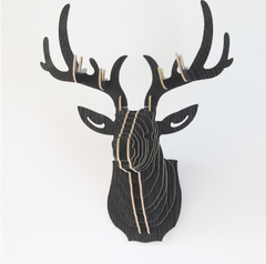 3D Puzzle Wooden Deer Head