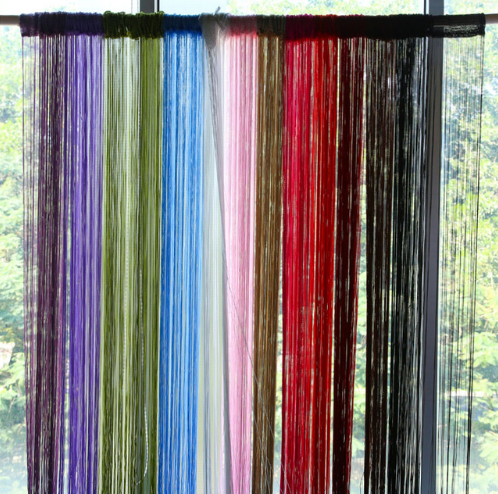 String Curtain Tassel Drape Decor for Living Room