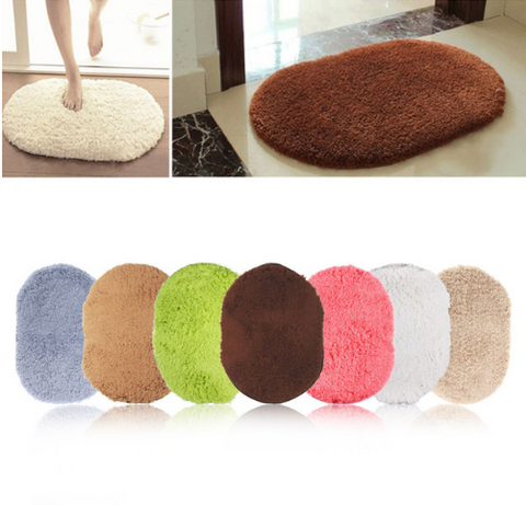 360 Rotatable Oval Mat