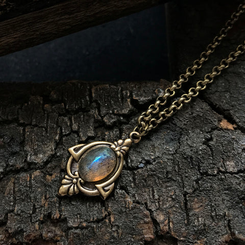 ARIA - labradorite necklace