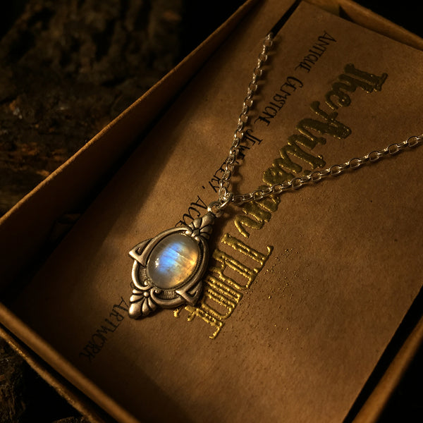 the artisan tribe moonstone necklace