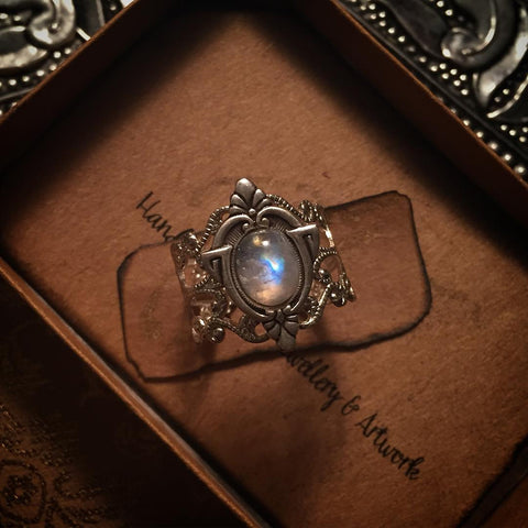 aria moonstone ring