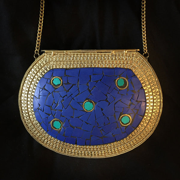 antique clutch bag