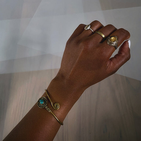 handmade brass rings