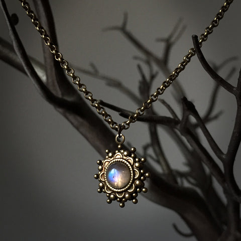 kira moonstone necklace