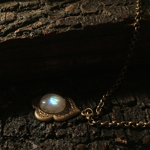 mara moonstone necklace