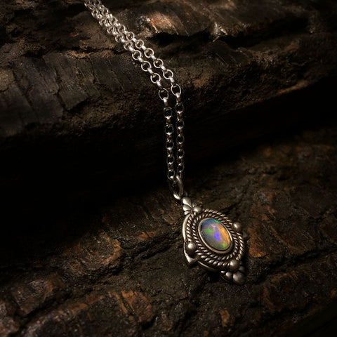 sofia opal necklace