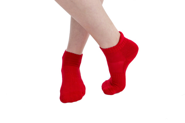 2 PAIRS - Red Athletic Socks