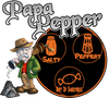Papa Pepper: Sea Salt and Black Pepper