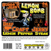 Lemon Bomb: Lemon Pepper Steak