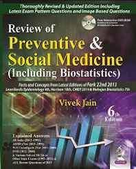 (Old) Review Of Preventive & Social Medicine (Including Biostatistics) Free Dvd-Rom Paperback – 2014-Books-sanapalas