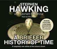A Briefer History of Time Audio CD – Abridged Audiobook CD-Books-sanapalas