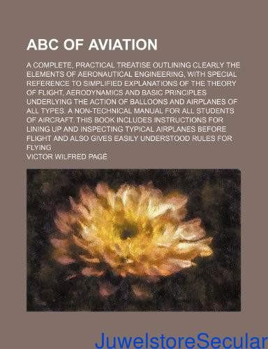 ABC of Aviation; A Complete, Practical Treatise Outlining Clearly the Elements of Aeronautical Engineering, with Special Reference to Simplified Explanations of the Theory of Flight-sanapalas
