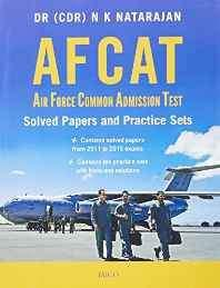 AFCAT: Air Force Common Admission Test - Solved Papers and Practice Sets Paperback – 2016-Books-sanapalas