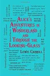 Alice's Adventures in Wonderland and Through the Looking-Glass (Word Cloud Classics) Flexibound – Import 28 Apr 2016-Books-sanapalas
