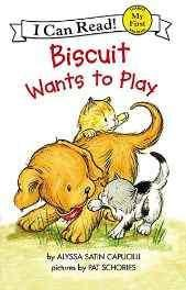 Biscuit Wants to Play (My First I Can Read) Paperback – 8 Jan 2002-Books-sanapalas