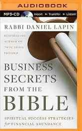 Business Secrets from the Bible: Spiritual Success Strategies for Financial Abundance MP3 CD – Audiobook MP3 Audio Import-Books-sanapalas