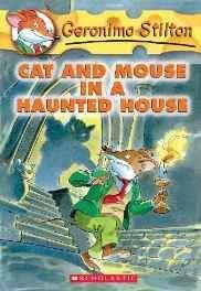 Cat and Mouse in a Haunted House (Geronimo Stilton) School & Library Binding – Import Jan 2004-Books-sanapalas