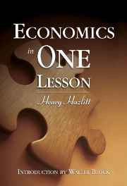 Economics in One Lesson Hardcover – 22 May 2008-sanapalas